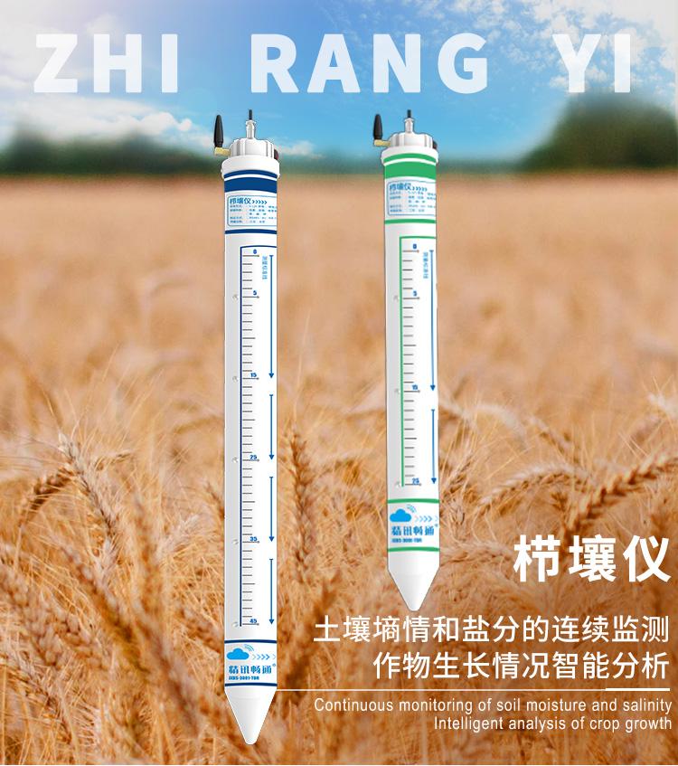 4G型土壤温湿度盐分传感器(五层温湿度+盐分)